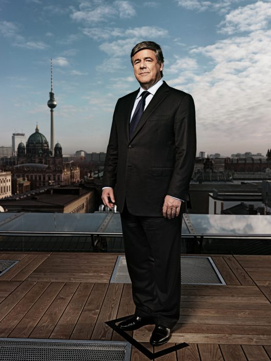 Josef Ackermann, CEO Deutsche Bank