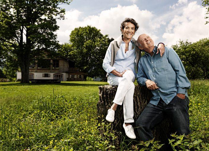 Sonja und Willy Bogner