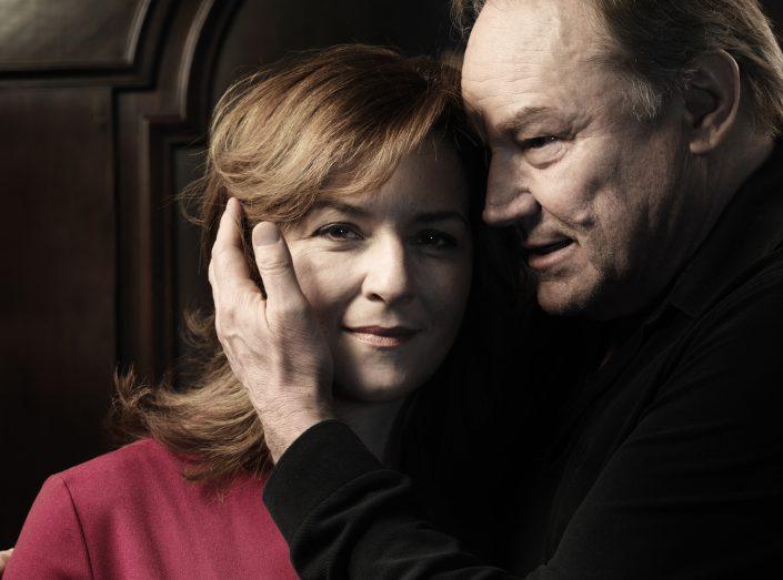 Klaus Maria Brandauer und Martina Gedeck