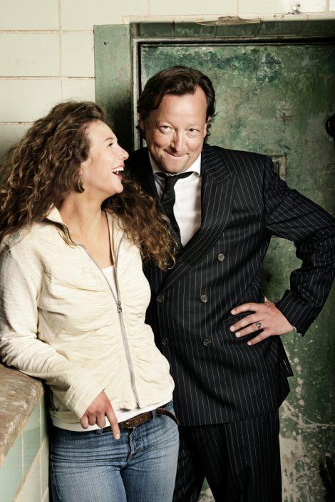 Matthias Brandt und Anna-Maria Sturm