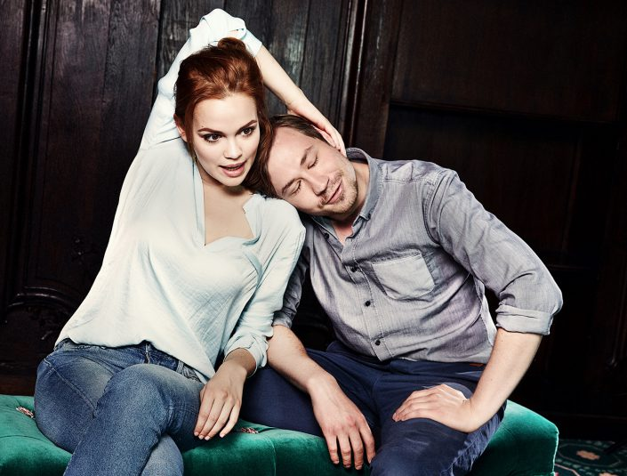 Emilia Schüle und David Kross