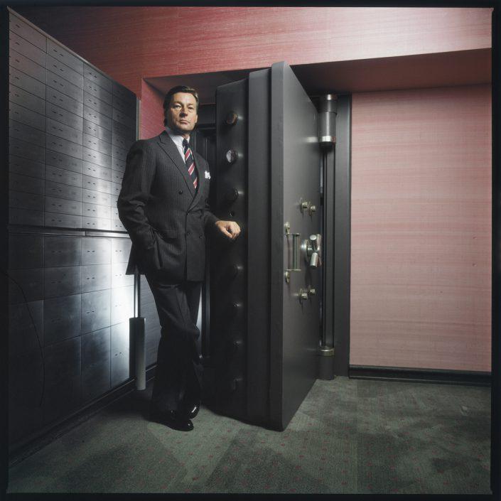 Alfred Herrhausen, CEO Deutsche Bank AG