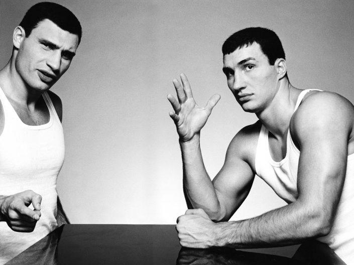 Vitali und Wladimir Klitschko