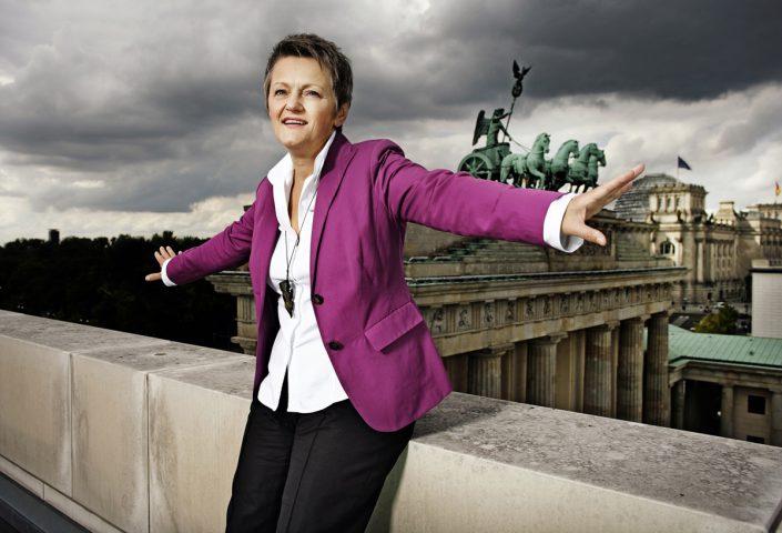 Renate Künast, Vorsitzende der Bundestagsfraktion Bündnis 90/Die Grünen