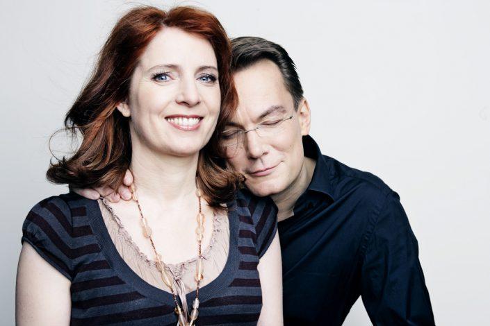 Monica Lierhaus und Rolf Hellgarth