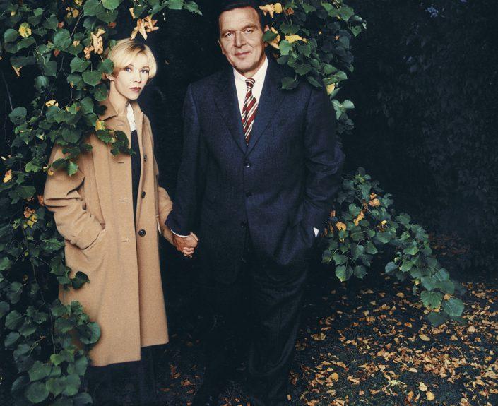 Gerhard Schröder und Doris Schröder