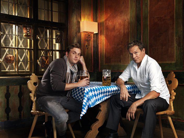 Christian Tramitz und Sebastian Bezzel