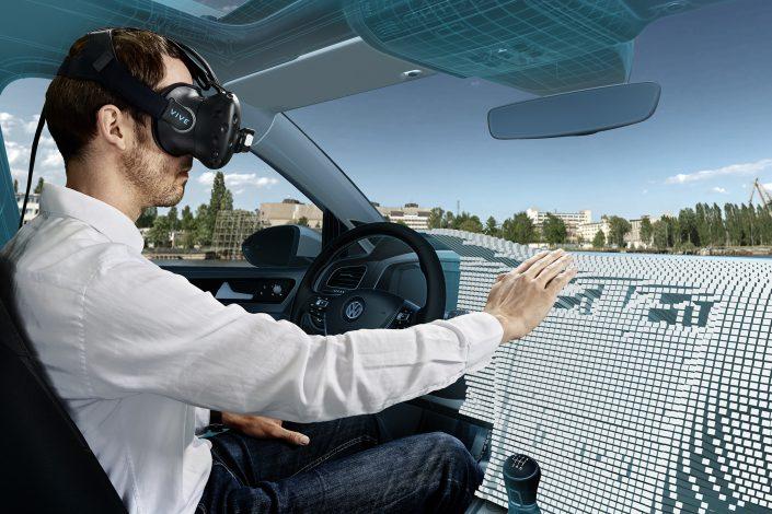 VW - Virtuelles Konzeptfahrzeug