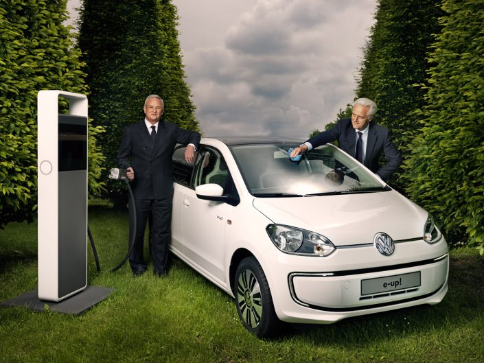 Martin Winterkorn, CEO VW AG und Peter Ramsauer, Bundesverkehrsminister